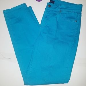 NYDJ Alisha Fitted Ankle Blue Jeans Pants 8